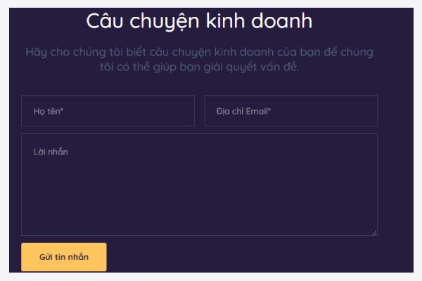 toi uu landing page form1 - Tối ưu Landing page tăng tỷ lệ chuyển đổi hiệu quả
