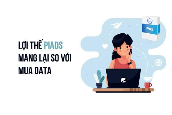 Lợi thế PiAds mang lại có những gì nổi trội so với mua data