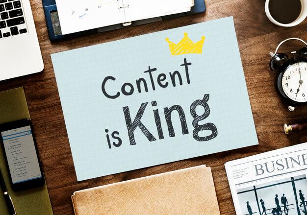 Content là nội dung của trang web quảng cáo Google Ads